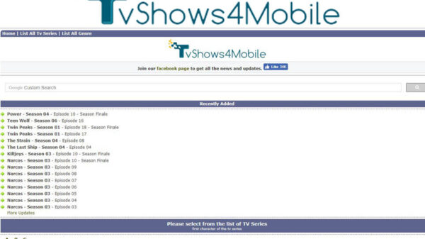 Tvshows4mobile – Download Latest TV Series and Shows   TVshow4Mobile.com