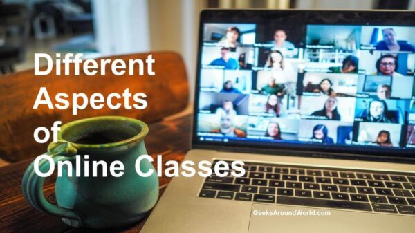 Different Aspects Of Online Classes