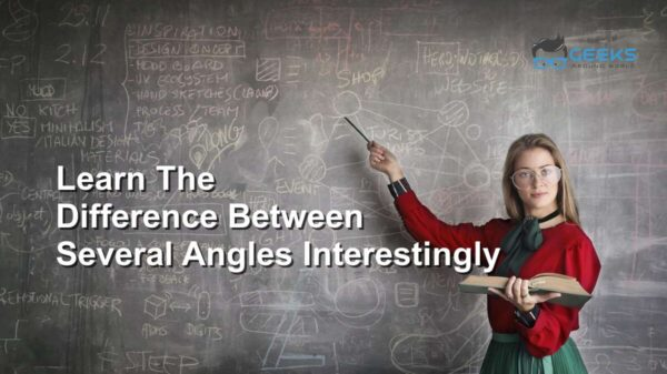 Difference Between Several Angles Interestingly